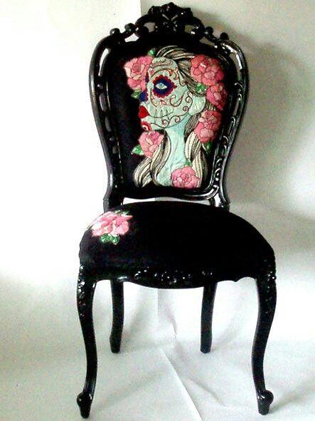 Skull chair, VERY cool!!!