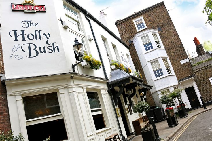 Visit The Holly Bush Pub and Restaurant in Hampstead for a warm welcome, great Fuller's beer and delicious meals.