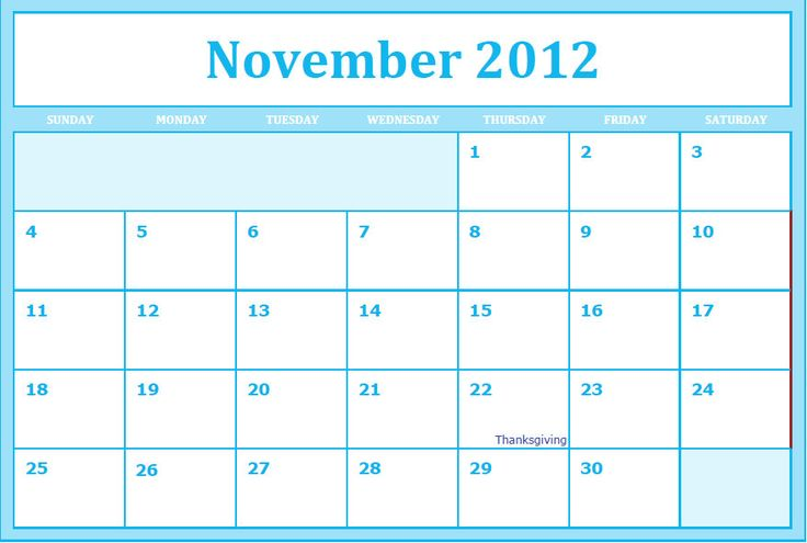 Blank November Calendar For Kindergarten : Best images about calendar design on pinterest