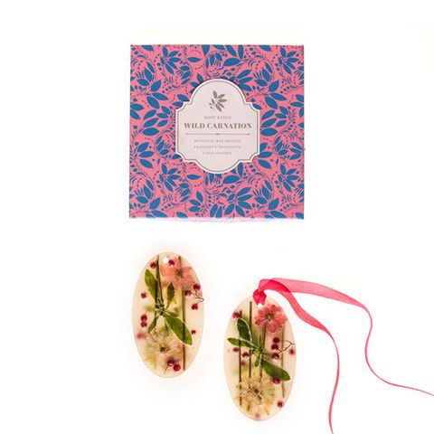 Wild Carnation Botanical Wax Sachets – Body Mind & Soul