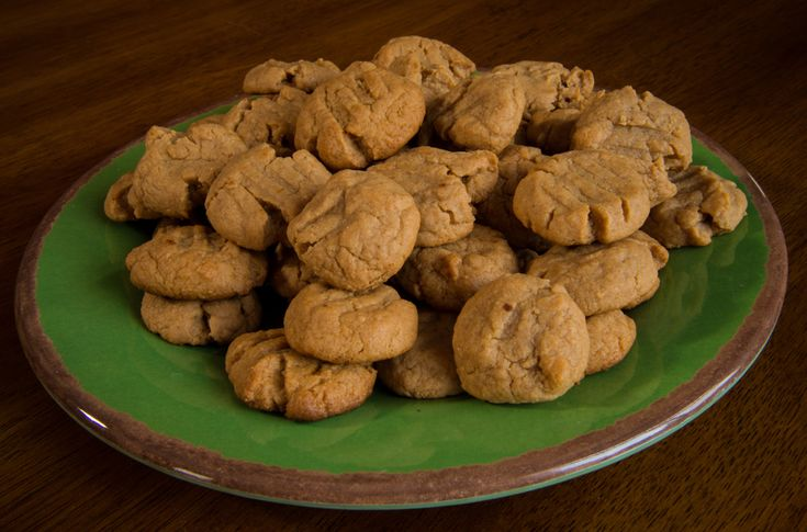 Peanut Butter Cookies--Fructose Malabsorption Recipes
