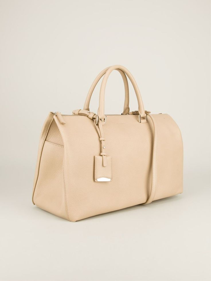 Jil Sander Textured Large 'j' Bag - Bernardelli - Farfetch.com