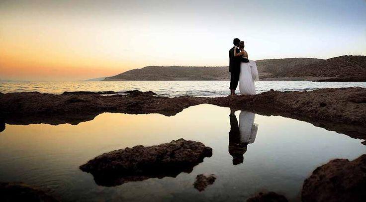 #ephos #weddingphotography #couple #sunset #greece