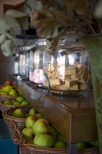 Fresh fruit, homemade shortbread & apples...All about balance