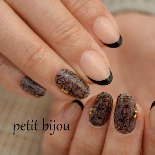 レース♡ の画像|Nail Atelier ―petit bijou―