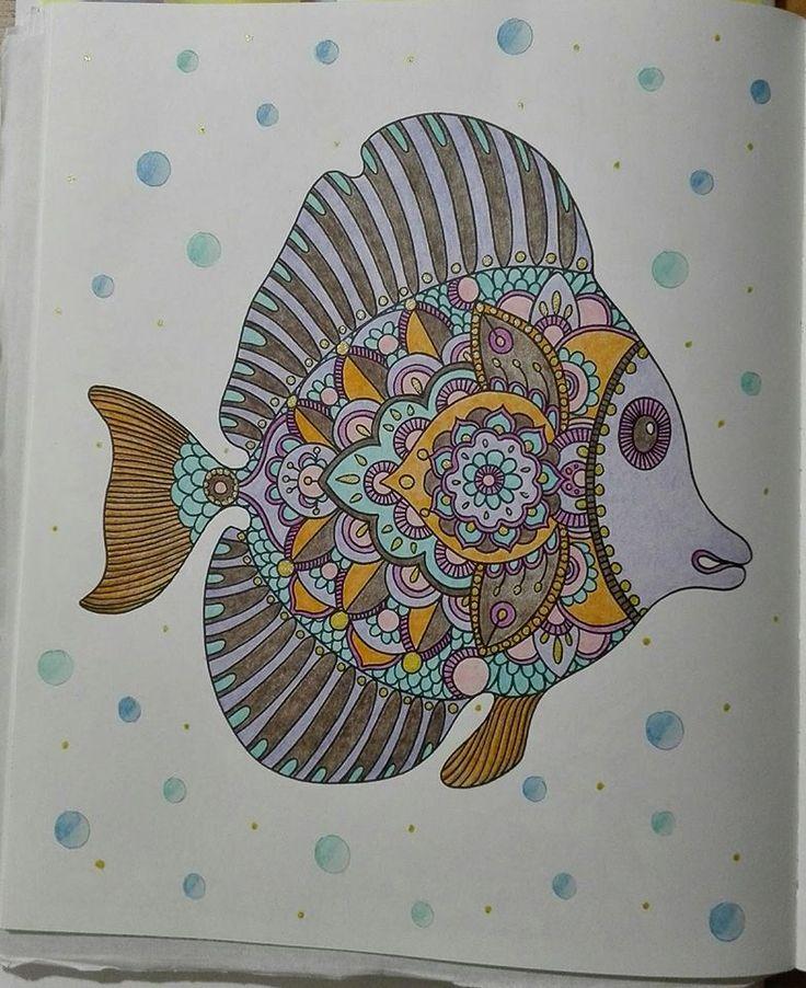 Finished: 5. 8. 2017; Source: Dagdrommar; Medium: Colorino Kids, gel pen, DW Inktense