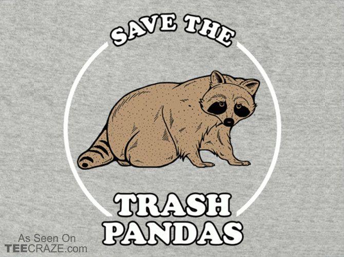 Save the Trash Pandas T-Shirt - https://teecraze.com/save-trash-pandas-t-shirt/ -  Designed by Busted tees   You May Also Like                          XPeaks T-Shirt                                       The She To The Nanigans T-Shirt