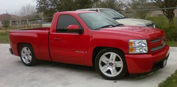 Dropped Single Cab Chevy Silverado Silverado 1500 regular cab