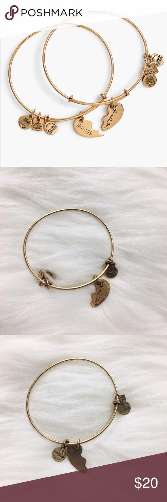 "Alex + Ani ""Best Friends"" ""Friend"" Bracelet Alex + Ani ""Best Friends"" ""Friend"" Bracelet. Only the ""Friend"" half in gold. Excellent condition. No trades. Alex & Ani Jewelry Bracelets"