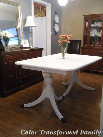 Chalk paint table top = chalk board table  A table kids and adults will love!: Tables Kids, Chalkboards Paintings, Wood Tables, Colors Transformers