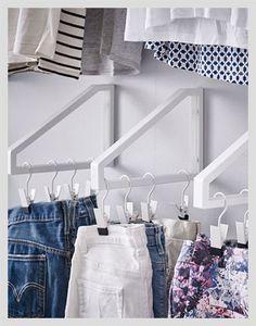 10 Small Closet Organization Ideas  #homedecor #home #diy #closet