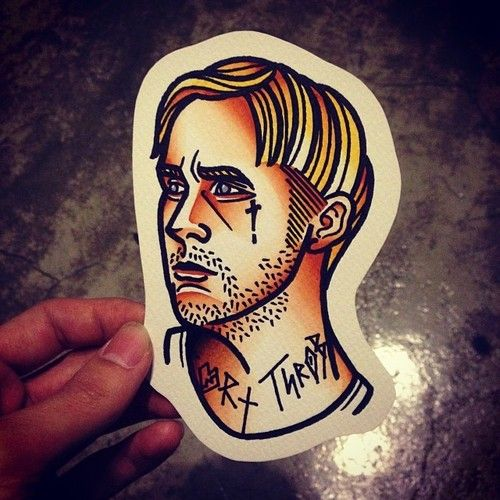 haha Ryan Gosling Tattoo idea