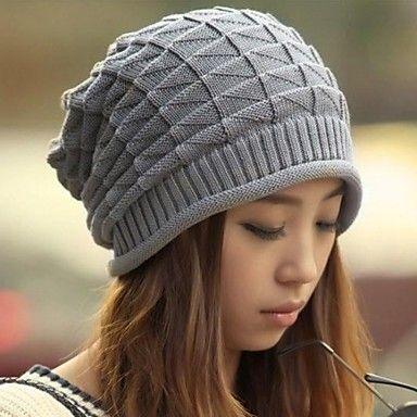 houtong® унисекс моды шерстяной бриллиант вязание шапочки шляпа – RUB p. 200,46