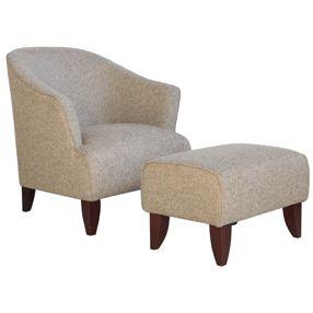 Sophia arm chair & stool R3495