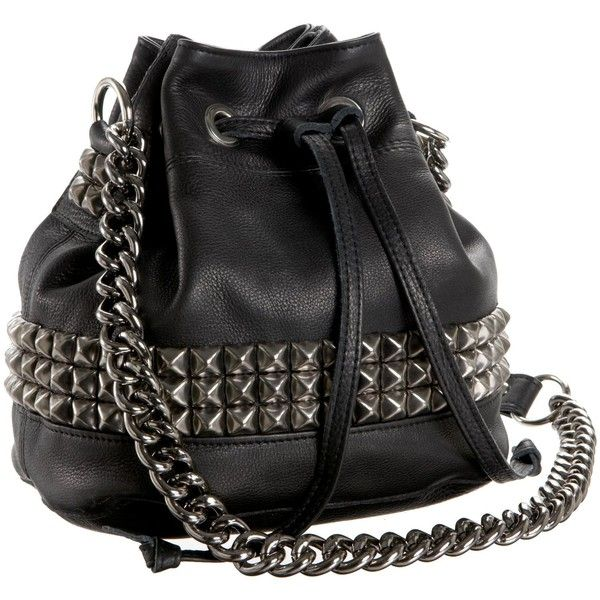 Tylie Malibu Runaway Jade Drawstring Cross Body Bag ($207) ❤ liked on Polyvore