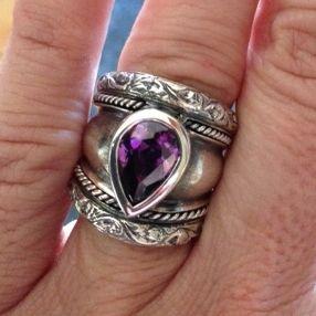 Handmade silver ring - Susan Roos