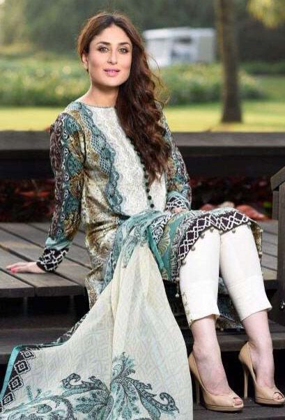 Buy Black/Turquoise Embroidered Cotton Lawn Salwar Kameez by Cresent Lawn Collection 2015.