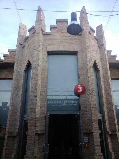 Animaux et Pharaons. Sala 3 del Caixaforum, Barcelona. 29/10/2015