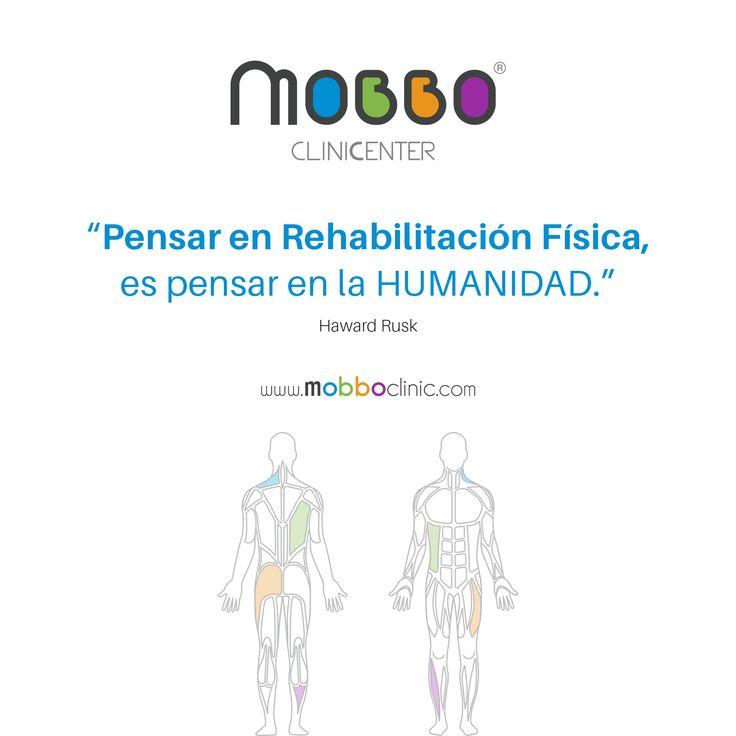 """MOBBO clinicenter ® """"Pensar en Rehabilitación Física, es pensar en la HUMANIDAD."""" Haward Rusk  TU BIENESTAR EN MOVIMIENTO #SaludyDeporte #AnalisisdeBiomecanica #Fisioterapia #Osteopatia #Rehabilitacion #MedicalGYM #fitness #Readaptacion #CardioSPORT #entrenamiento #Vascular #ClinicSPINE #HerniaDiscal #NeuroFIT #RehabilitacionNeurologica #UnidadDolorCronico #dolor #motivaciongym #salud #bienestar #vive #ejercicioterapeutico  #deporte  CITA PREVIA: Avda. Portugal, 4 Huelva T. +34 959 10 22 00"""
