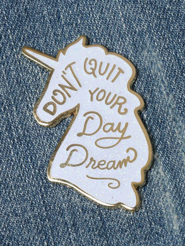 Unicorn Day Dreams Enamel Pin - Gypsy Warrior