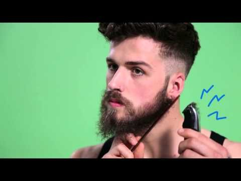 Beard trimming how to | ASOS Menswear grooming how to - YouTube, Annotations