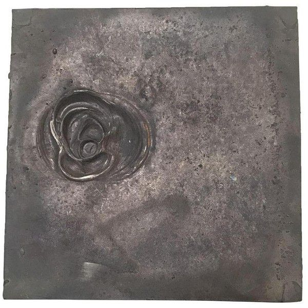 Cast Bronze Square Plaque ($175) ❤ liked on Polyvore featuring home, home decor, sculptural wall objects, bronze plaques and bronze home decor