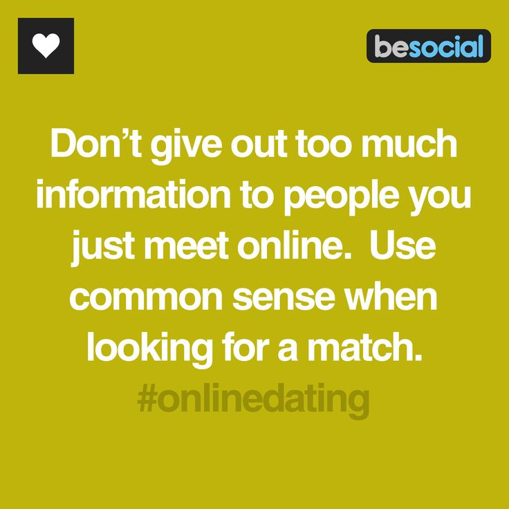 When to take down profile in online dating