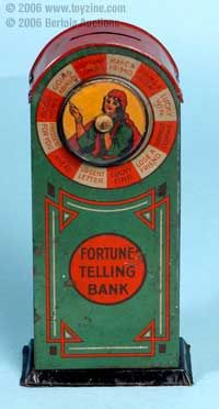 Vintage Tin Toy Bank
