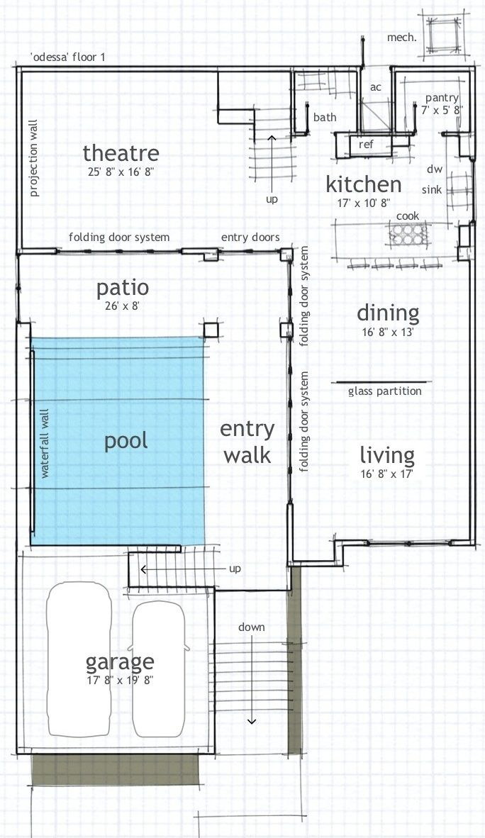 12 best modern house plans images on pinterest modern house