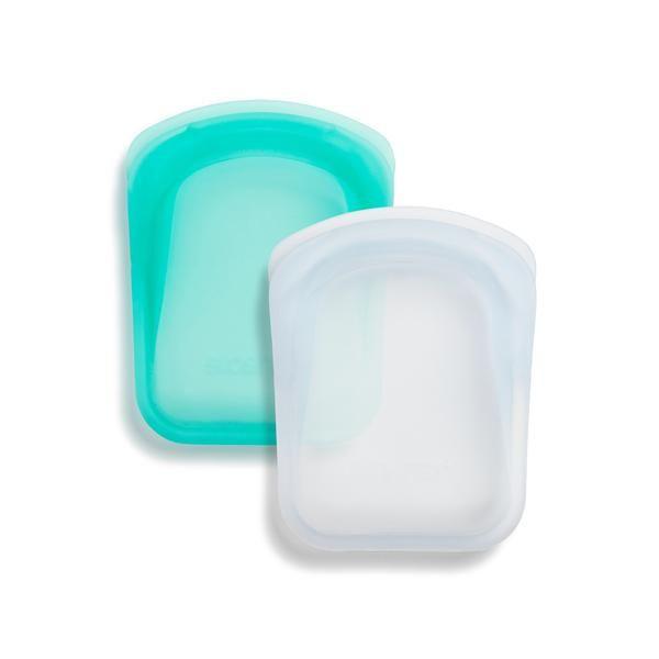 Reusable Silicone Pocket 2 Pack Bundle Stasher Bag Storage Reusable