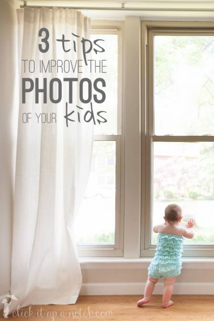 Use these 3 tips to capture those memories and improve the photos of your kids. I like the whisper trick!