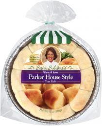 Sister Schubert's Parker House Style Rolls