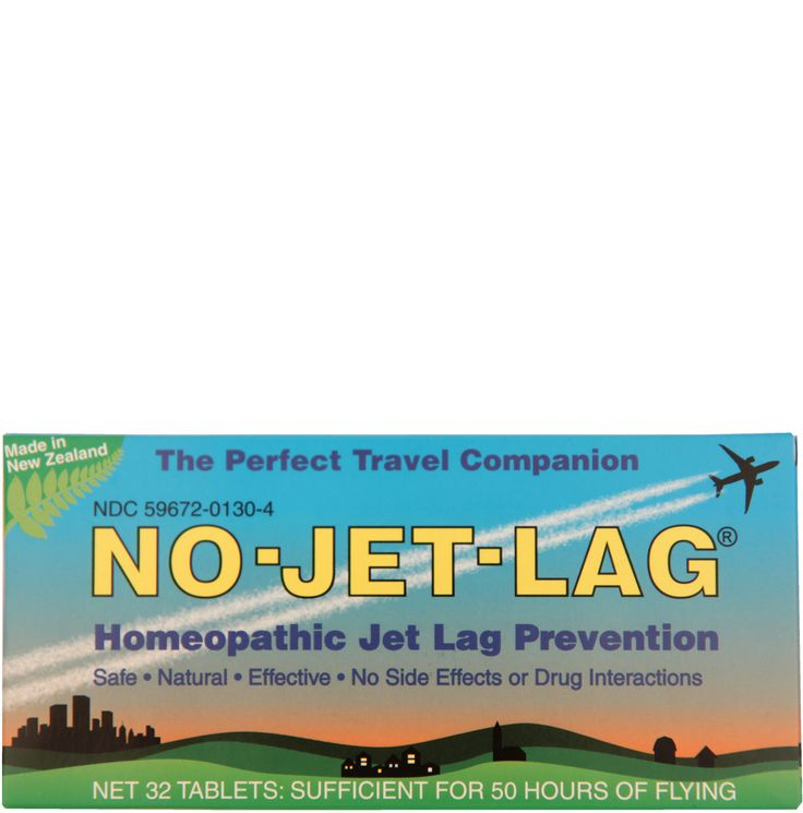No Jet Lag is a safe, natural homeopathic remedy that starts ...