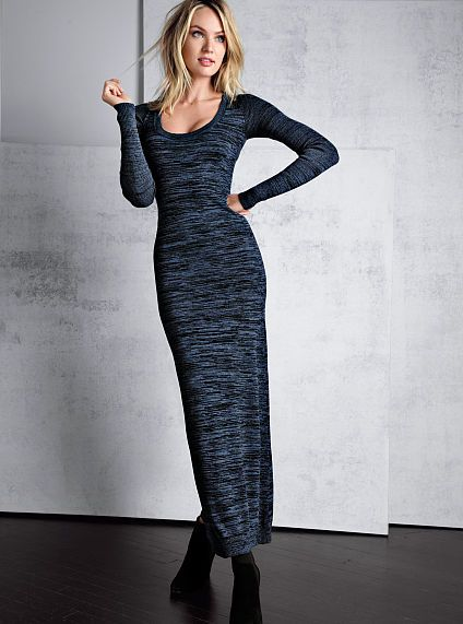 Knit Maxi Dress A Kiss of Cashmere -- trying to decide yea or nay on this one..