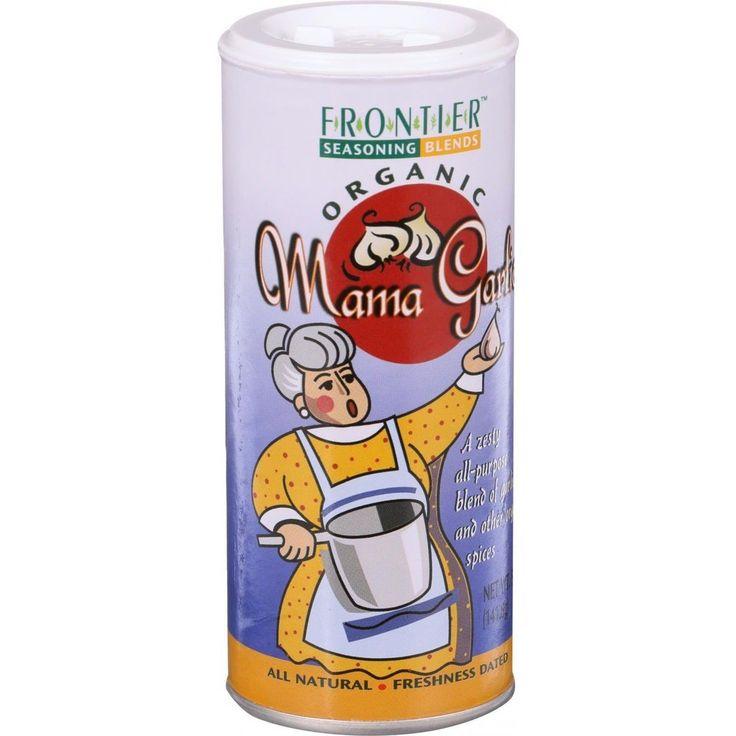 Frontier Herb All Purpose Seasoning Blend - Organic - Mama Garlic - 5 Oz