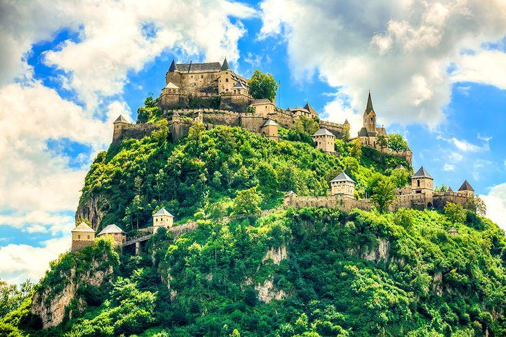 Burg Hochosterwitz i Österrike #burg #hochosterwitz #burghochosterwitz #slott #castle #österrike #austria