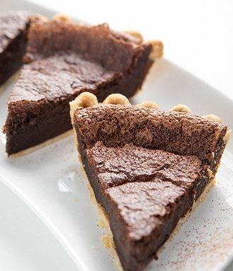 Nutella™ Brownie Pie. Whip up a deliciously rich brownie pie in minutes with this easy little idea. Only three ingredients and 10 minutes for a dessert that everyone will love!