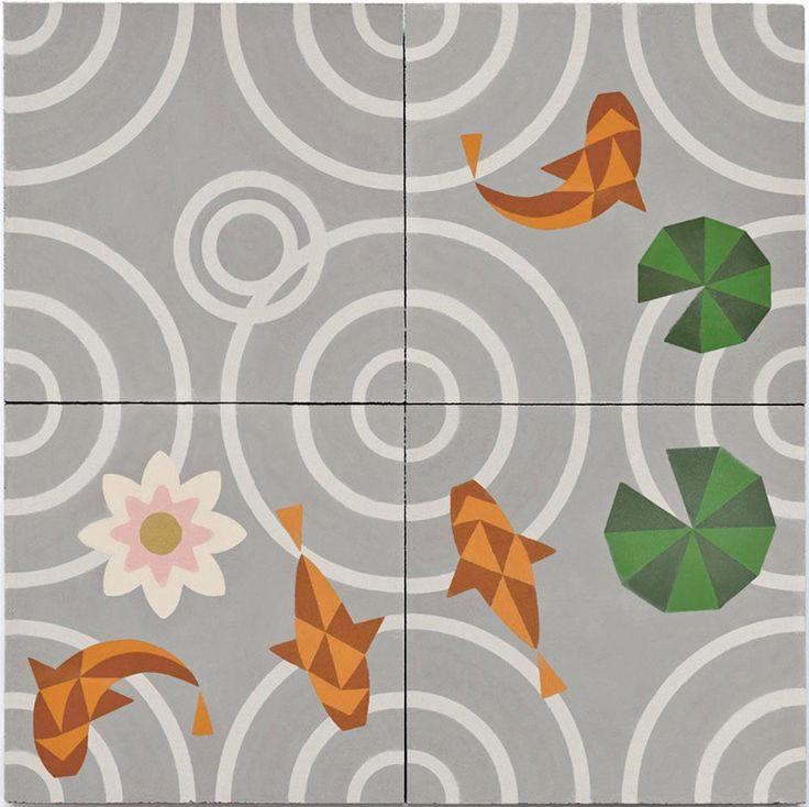 MUT design, Drops concrete tiles