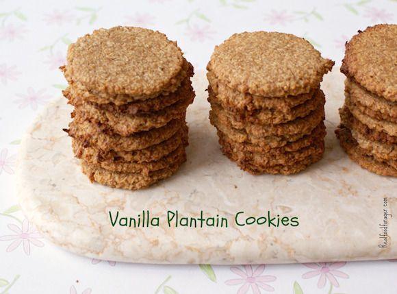 Post image for Recipe: Vanilla Plantain Cookies (Grain-free, Paleo, AIP)