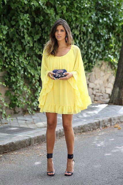 trendy_taste-yellow_dress http://FashionCognoscente.blogspot.com