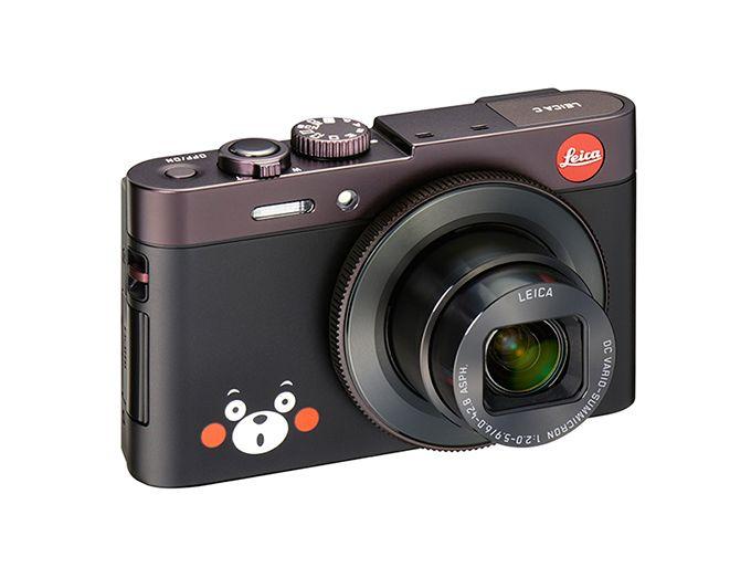ライカより、限定カメラ「くまモンのライカC」直筆のサインカードも同梱の写真2