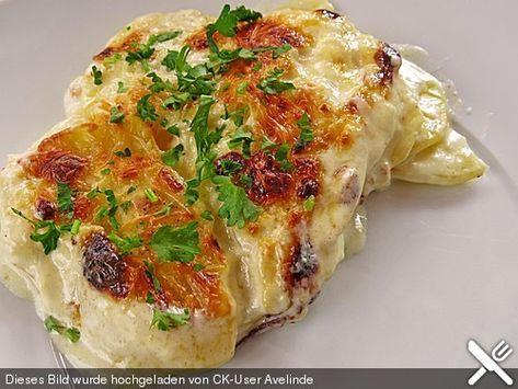 Kartoffelgratin mit Käse, ein sehr schönes Rezept aus der Kategorie Vegetarisch. Bewertungen: 190. Durchschnitt: Ø 4,5.