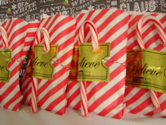 Polar Express Birthday Party Favors Gifts