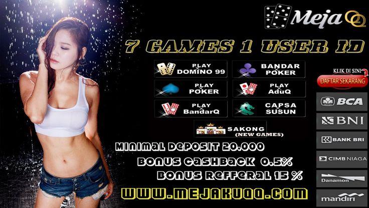 Tunggu apa lagi mari bergabung sekarang juga di MejakuQQ bersama CS kami yang online 24 jam www.MejakuQQ.com