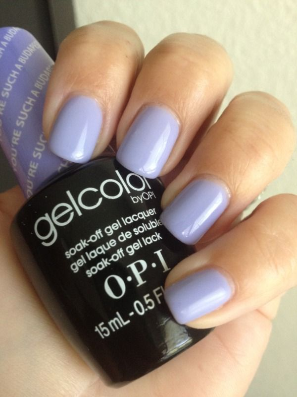 OPI gel color Youre such a budapest Check out the website to see more