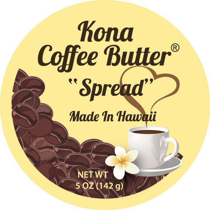 """今、ABCストア内で""""コナコーヒーバターはお土産部門ナンバーワン""""と話題に!!ハワイで人気爆発中★カフェオレのようなほんのり甘いバターは一度食べたらやみつきに。ファーマーズマーケットでも毎回のように完..."""