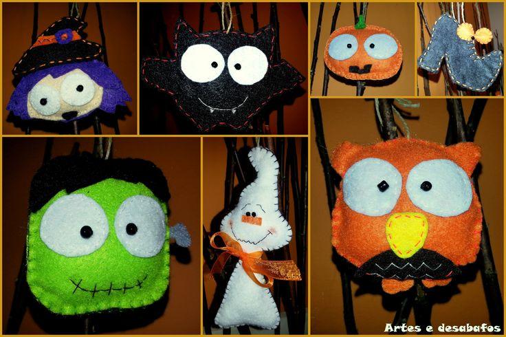 Decorações assustadoras... http://artesedesabafos.blogspot.pt/2014/11/decoracoes-assustadoras.html