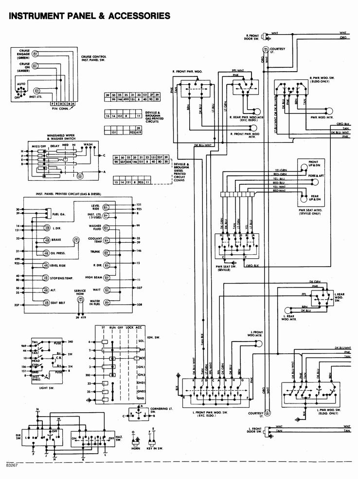 Electrical Wiring Diagram, E38 Wiring Diagram