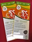 #Ticket  2 x Tickets Rio 2016 Olympics CYCLING MOUNTAIN BIKE CM002 FREE UPS SHIPPING #deutschland