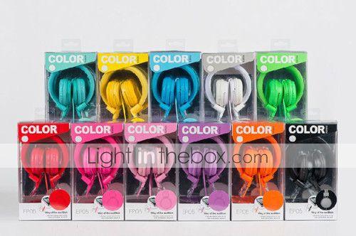 écouteur universel w / mic pour l'iphone 6 iphone 6 plus (couleurs assorties) - CAD $ 15.95